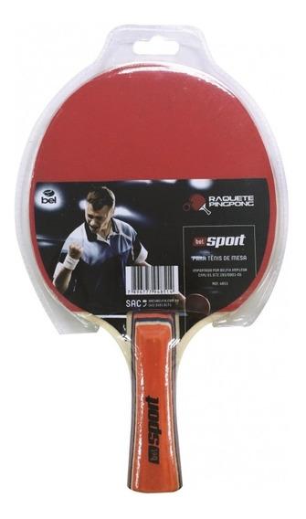 Raquete Ping Pong Tênis Mesa Borracha Semi Profissional 4851