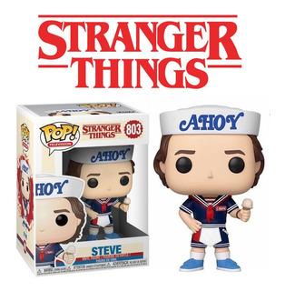 Funko Pop Steve 803 Stranger Things Will Dustin Mike Eleven