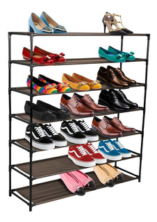 Rack Zapatera Organizador 7 Niveles Modular Torre De Zapatos