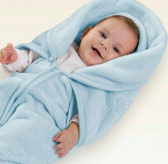 2 Em 1 - Cobertor Bebe Baby Sac Jolitex E Saco De Dormir