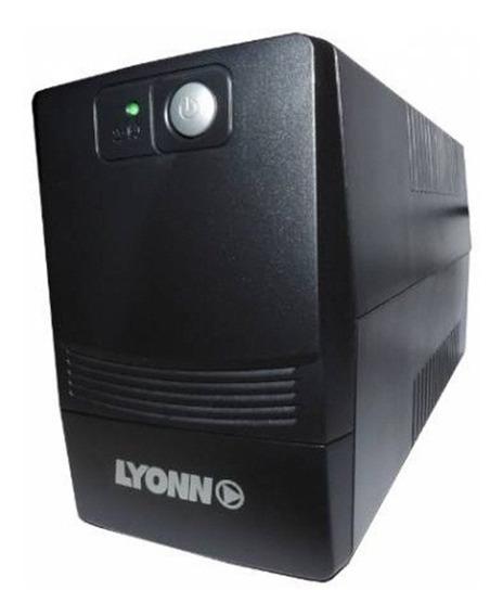 Ups + Estabilizador Lyonn 500w 500va Software Usb Xellers 1