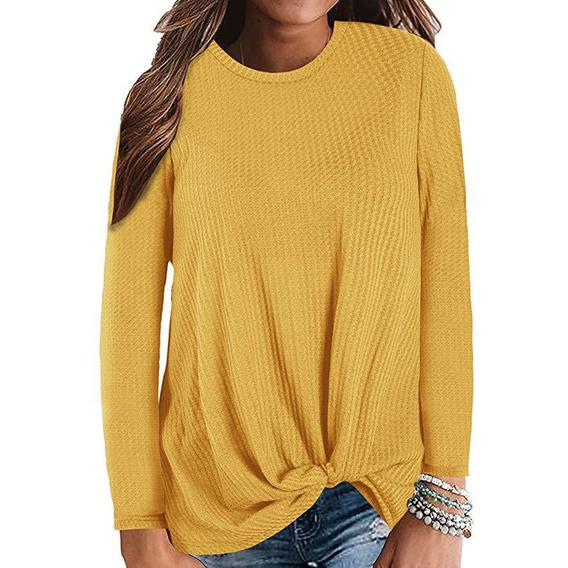 Suéter Casual De Punto Para Mujer Más El Tamaño Suelto