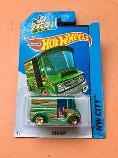 Hot Wheels - Camión - Bread Box- Color Verde - 03_recs
