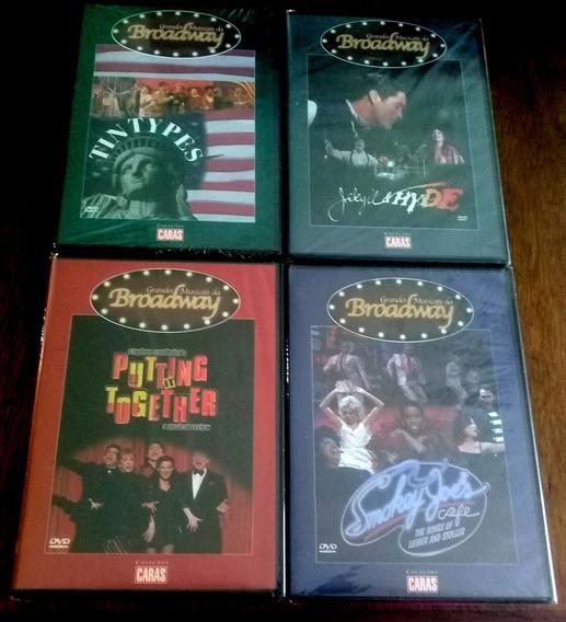 Combo Dvd Grandes Musicais Da Broadway ( Lacrados )