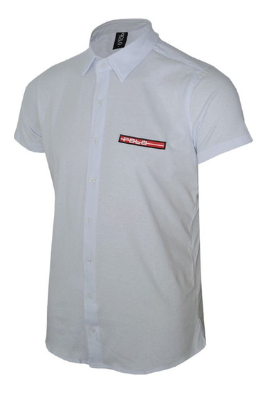 Camisa Manga Curta Com Tape