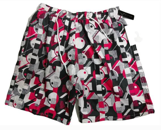 Traje De Baño Hombre Shorts Playa Verano Vacaciones Snapback