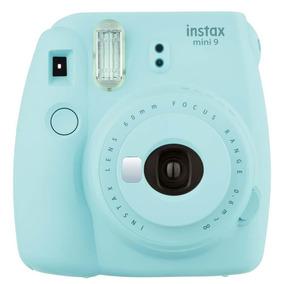 Câmera Fuji Instax Mini 9 Instantanea Polaroid Original Azul