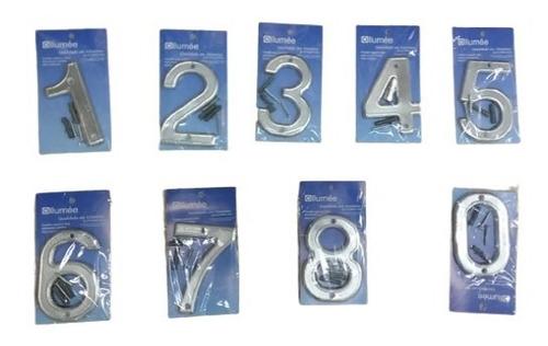 Numero Residencial Alumínio 10cm  Allumee 3