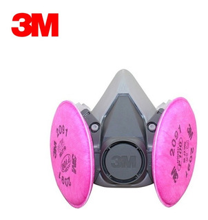 Semimascara 3m 6200 Con Filtros P100 2091