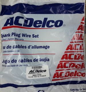 Juego De Cables Para Bujias Chevrolet Aveo 4cil. 1.6 05/08