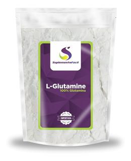 Glutamina 1kg Glutamina Pura L Glutamina L-glutamina C/ Nf