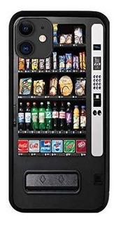 Brgiftshop Vending Machine Rubber Phone Funda Para iPhone 11