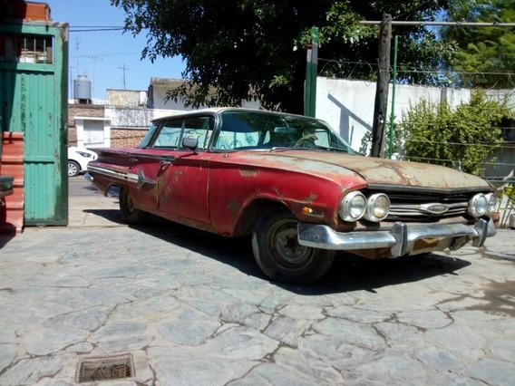 Vendo Chevrolet Impala 1960,10 Faros, Listo Para Transferir!