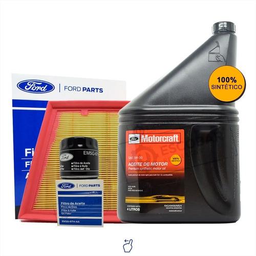 Imagen 1 de 10 de Kit Filtros Aceite + Aire + 5w30 X 4 Lts Ford Ka Motor 1.5