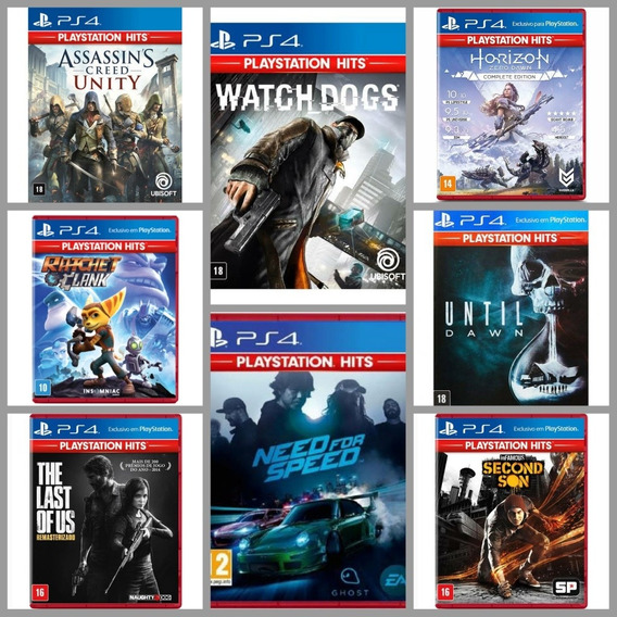 Kit 2 Jogos Ps4 Exclusivos - The Last Of Us - God Of War -