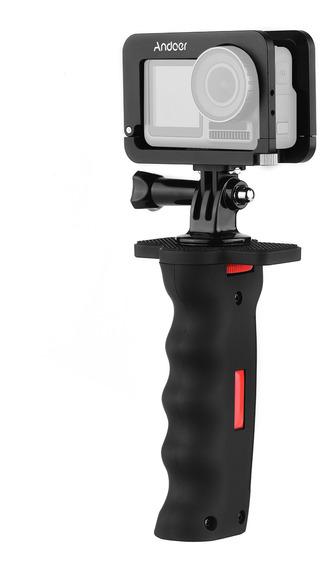 Andoer Metal Camera Gaiola Compatível Com Osmo Action