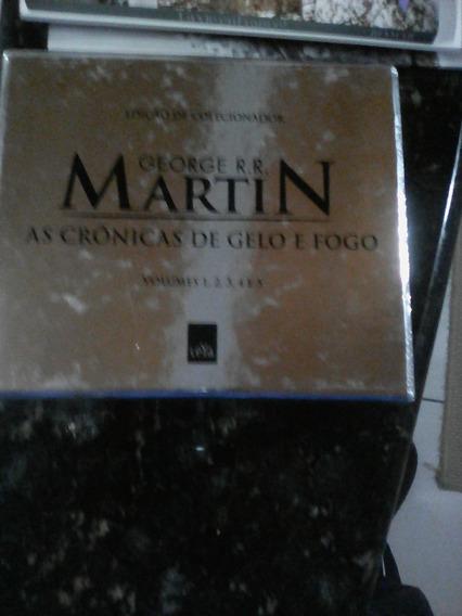 Box As Cronicas De Gelo E Fogo