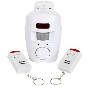 Kit Alarme S/ Fio Residencial Comercial 2 Controle Remoto