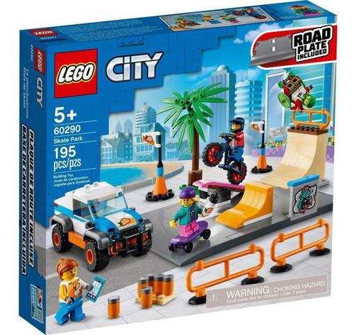 Imagem 1 de 2 de Lego City - Parque De Skate - 60290