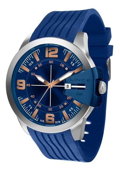 Relogio Lince Masculino Mrp4487s D2dx Azul Aço