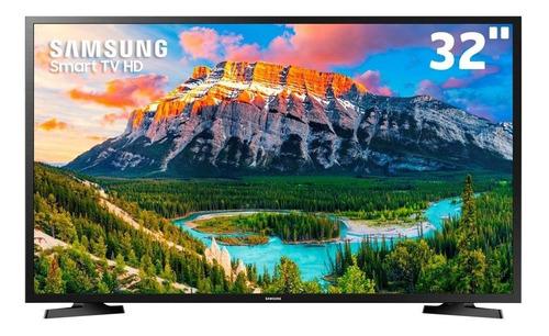 Imagem 1 de 5 de Smart Tv Samsung 32 Polegadas Hd Hdr Tizen Un32t4300agxzd