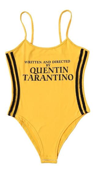 Bodysuit De Quentin Tarantino Body Estilo Kill Bill