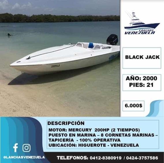 Lancha Black Jack 21 Lv24