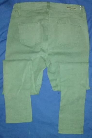 Pantalón Dama Verde Totalmente Nuevo