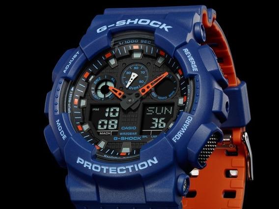 Relógio Casio G-shock Ga-100l-2a Original