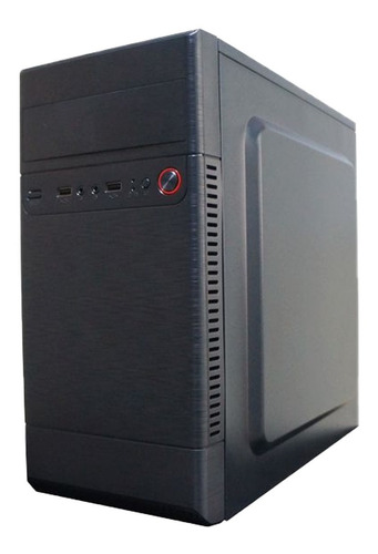 Imagem 1 de 3 de Cpu Pc Torre I7 4gb Ssd 120 Gb Mbh61 1155