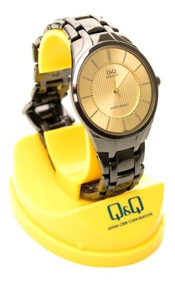 Reloj Q&q Elegante De Acero Para Hombre - 2 Colores/ Oferta