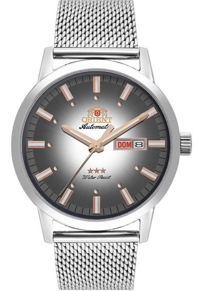 Relógio Masculino Orient Automatico 3 Estrelas 469ss085 S1sx