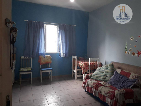 Kitnet Com 1 Dormitório À Venda, 32 M² Por R$ 100.000,00 - Boqueirão - Praia Grande/sp - Kn0549
