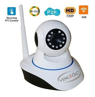 Camara Venlogic Ip Wifi Robotica Giro 360 1.0mp Wifi / Lan C