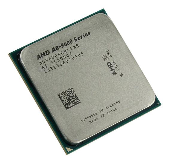 Procesador gamer AMD A8-Series A8-9600 AD9600AGM44AB de 4 núcleos y 3.1GHz de frecuencia con gráfica integrada