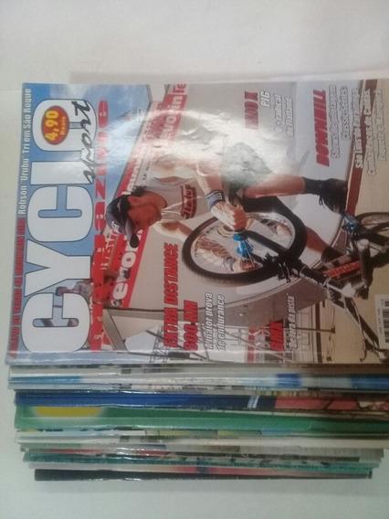 Coleção Revistas Cycle Magazine