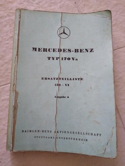Manual Mercedes Benz Antiga