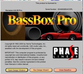 Bass Box Pro 6 + Smaart V7 Completo P/ Windows