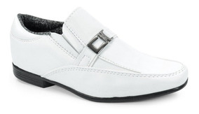 Sapato Infantil Sames Fivela Branco - 9304