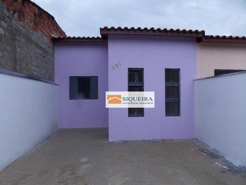 Casa Com 3 Dormitórios À Venda, 70 M² - Parque Vitória Régia - Sorocaba/sp - Ca0068