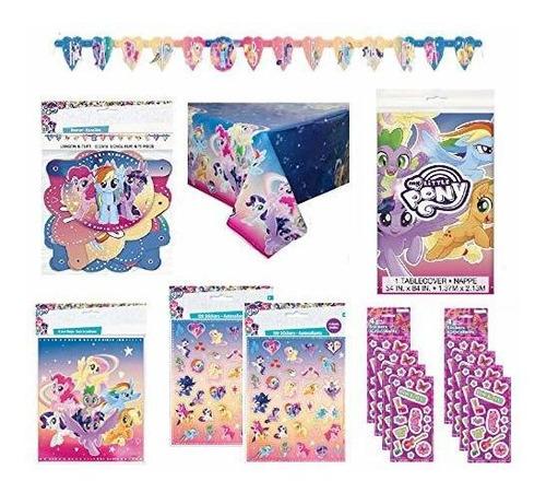 My Little Pony, Suministros Para Fiesta De Cumpleaños, Decor