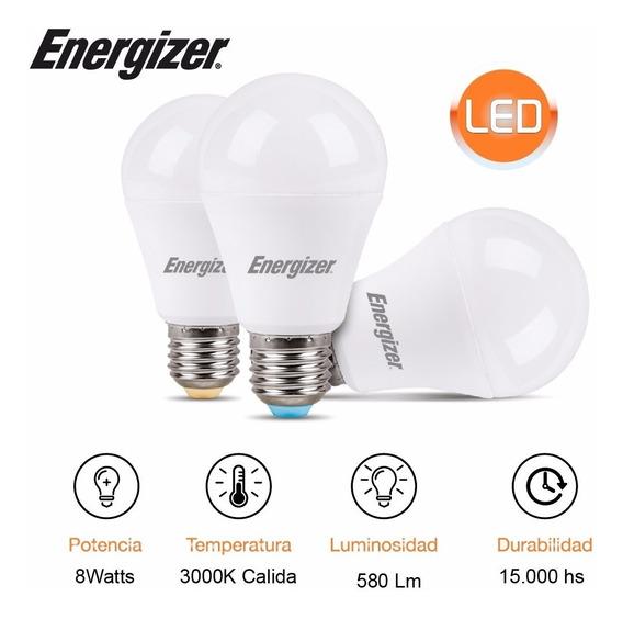 Lampara Led 6w = 40w 6400k Luz Dia Calida Energizer