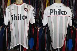 Atlético Paranaense 2010 Camisa Reserva Tamanho 3g (b).
