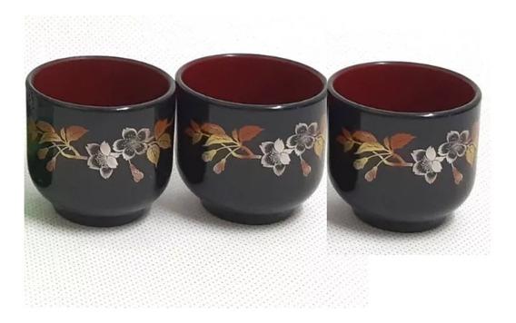 03 Copo Guinomi Para Bebida Japonesa Coreana Sake Saque Soju