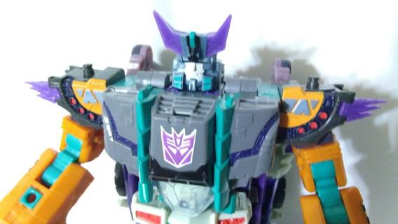 Transformers Cybertron Megatron Con Detalles Hasbro Del 2005