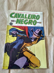 Cavaleiro Negro Nº 108 - Anos 60 - Rio Gráfica - Faroeste