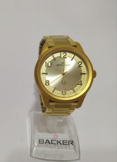 Relógio Unissex Backer 3192145m Ch