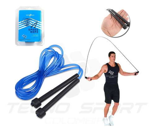 Lazo Para Salto Sport Fitness 5mm X 2.8mt Crossfit Gym