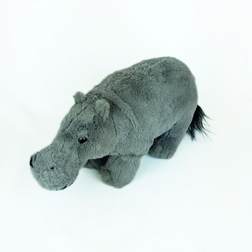Imagem 1 de 4 de Hipopótamo De Pelúcia 30cm Safari