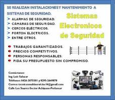 Sistemas De Seguridad:alarma-camaras-porton Electrico-cerco
